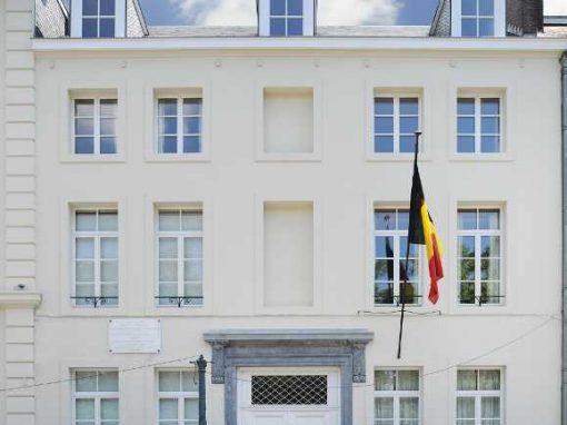 Transformation et rénovation d'un immeuble à Bruxelles