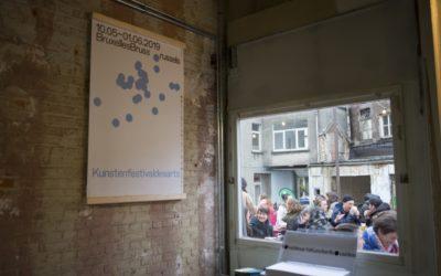 Un chantier parfaitement réalisé pour le Kunstenfestivaldesarts 2019